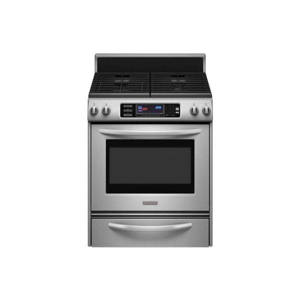 Kitchenaid Kgrs807sss Architect Series Ii Gas Range Oven