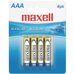 Maxell Aaa 4pk Carded Batteries