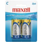 Maxell C 2pk Carded Batteries-