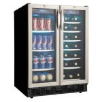 Danby DBC2760BLS Built-In Wine Cooler and Can Beverage Center
