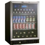 Danby DBC514BLS Silhouette 112-Can Built-In Beverage Center
