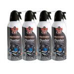 Dust-Off DPSXL4 Compressed Gas Duster - 4 Pack