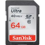 SanDisk 64GB Ultra UHS-I SDXC Memory Card (Class 10)